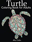 Turtle Coloring Book for Adults
