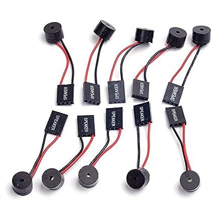 Cylewet 10Pcs Mainboard Computer PC Internal Speaker Buzzer ...