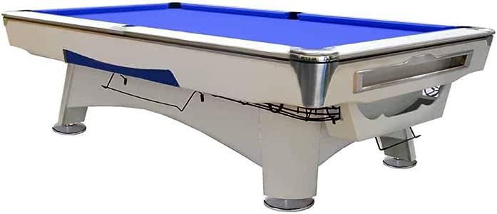 Mesa de Billar Feel Comfort Alaska 8 FT (Azul/Blanco) Pool Snooker Pizarra Incluye Juego de Accesorios: Amazon.es: Deportes y aire libre