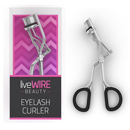 Professional Eyelash Curler - Never Needs Refill Pads! - Doesn't Pinch Or Pull