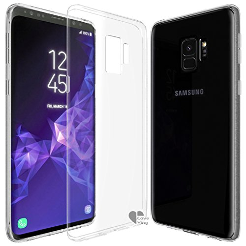 Galaxy S9 case,Love Ying [Crystal Clear]...