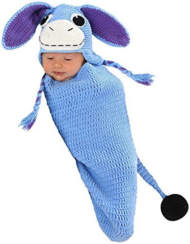 Ellis the Donkey Baby Infant Costume - Newborn (Eeyore Infant Costume)