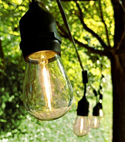 Permanent Outdoor String Lighting