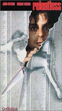 Amazon.com: Relentless [VHS]: Judd Nelson, Robert Loggia ...