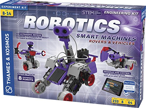Thames & Kosmos Robotics: Smart Machines Rovers and Vehicles