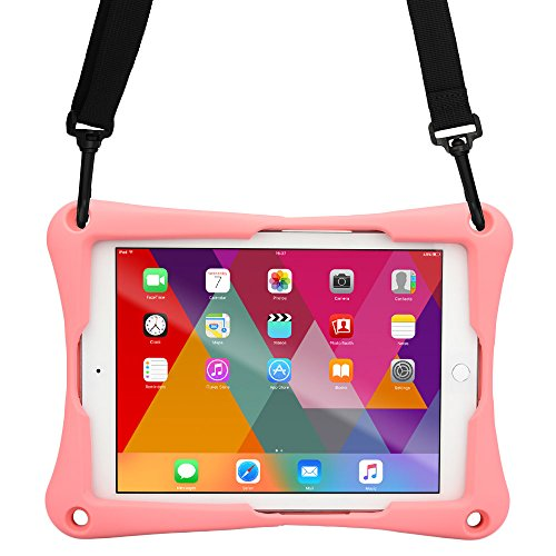 Cooper Trooper 2K Rugged Case for Vodafone Smart Tab 10, II 10, III 10.1 | Bumper Protective Drop Shock Proof Kids Holder Carrying Cover Bag (Pink) (Vodafone Smart 2 Case)