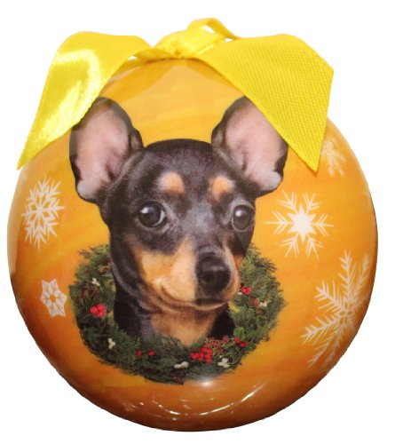 Chihuahua Christmas Ornament Shatter Proof Ball Easy To Personalize A Perfect Gift For Chihuahua -