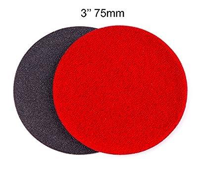 3 inch (75mm) GP150 Abrasive Disc for Glass Scratch Repair, COARSE GRADE (pack of 10 discs)