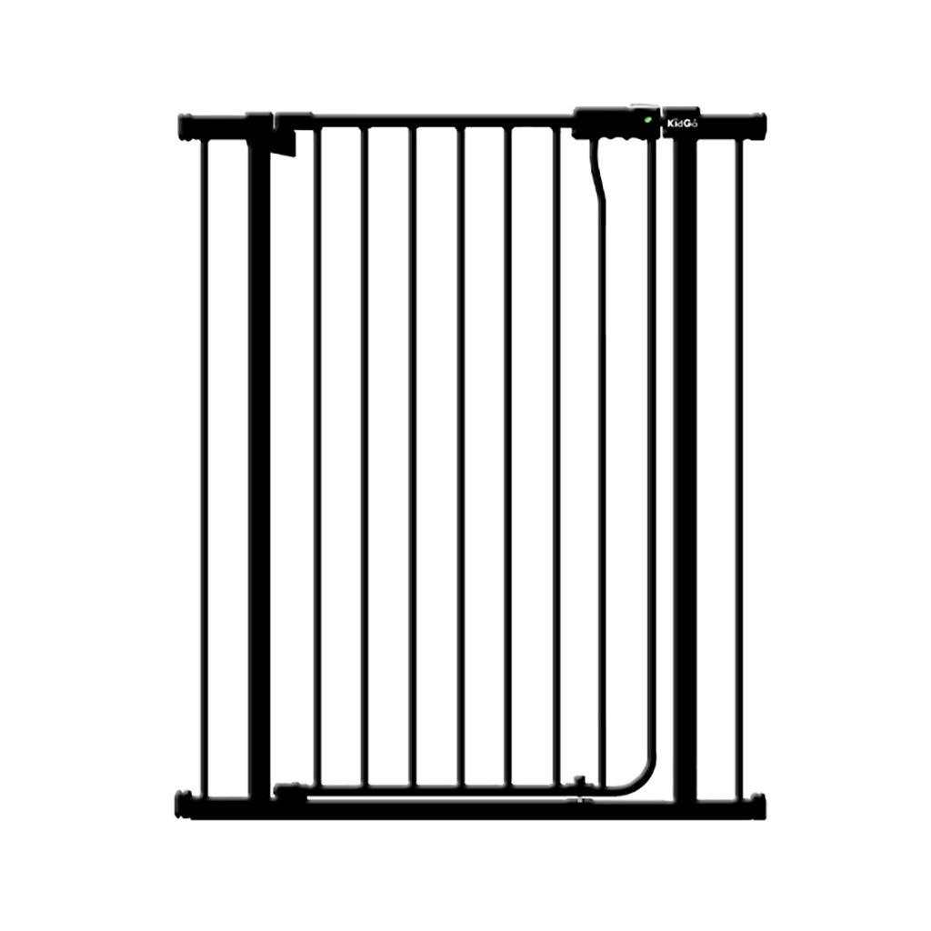 DNSJB 子供の安全ドアの階段ゲートペット安全ゲート、ペット塀の保護分離のドア (Color : Black)  Black B07T58SX9C