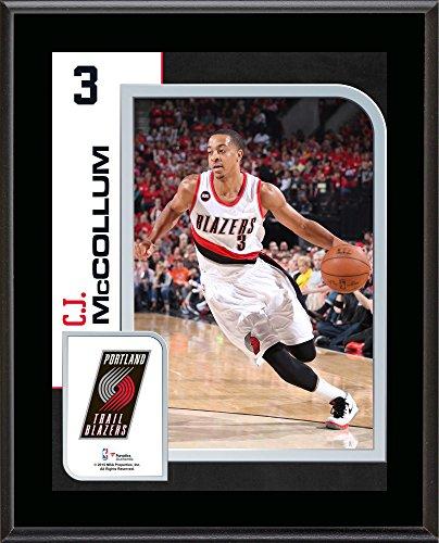 C.J. McCollum Portland Trail Blazers 10.5'' x 13'' Sublimated Player Plaque - Fanatics Authentic Certified