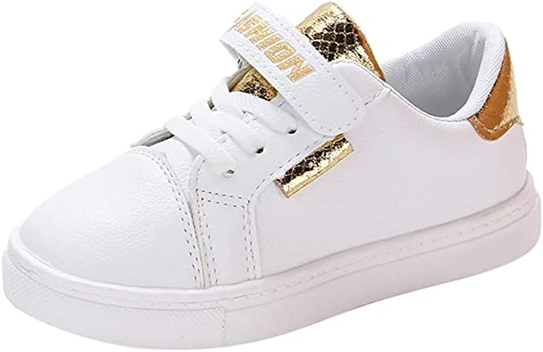 Girls Kids Princress Winter Warm Lined Sports Soft Comfort Shoes Trainers Casual
