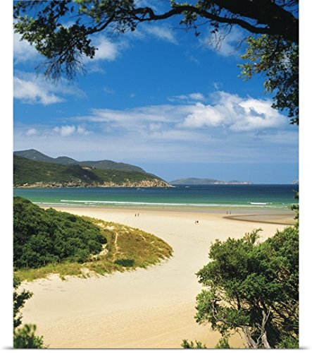 great-big-canvas-poster-print-entitled-norman-bay-at-tidal-river-in-wilsons-promontory-national-park