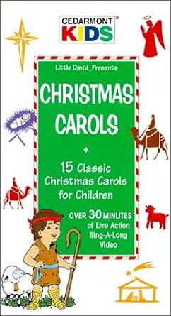 christmas carols 15 classic christmas carols for children vhs - Classic Christmas Carols