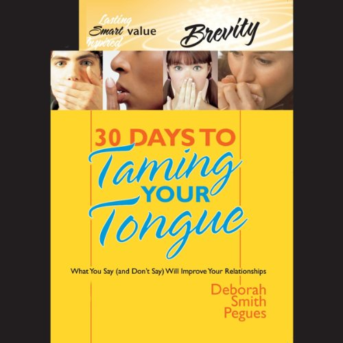 Bargain Audio Book - 30 Days to Taming Your Tongue