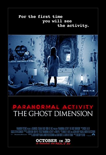 Paranormal Activity the Ghost Dimension - 11x17 Framed Movie Poster by Wallspace by Wallspace