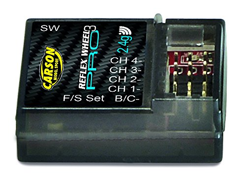 2.4 GHz Ricevitore Reflex Wheel PRO 3 Carson 500501533