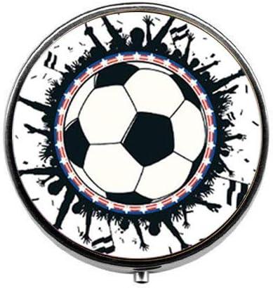 Pastillero de balón de fútbol, caja de caramelos de fútbol, regalo ...