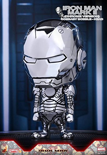 アイアンマン・マーク2(クロムメッキ版) 「アイアンマン」 コスベイビー サイズS MARVEL六本木ヒルズホットトイズストア限定の商品画像