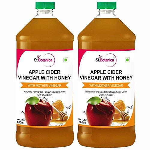 StBotanica Apple Cider Vinegar with Mother Vinegar and Honey