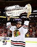 Brandon Bollig Chicago Blackhawks 2013 Stanley Cup Trophy Photo 8x10