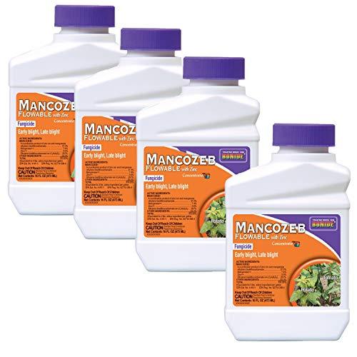 Bonide Chemical 862 PT Mancozeb Flowable Fungicide 1 Pint (.4-Pack)