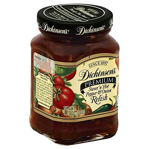Dickinson's Pepper & Onion Relish, 8.75 oz