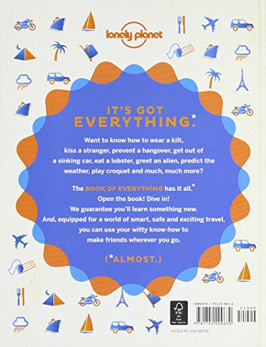 513VTElzq4L - The Book of Everything: A Visual Guide to Travel and the World (Lonely Planet)
