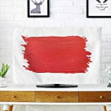 Philiphome tv Protective Cover Lipstick Texture Paint Background tv Protective Cover W32 x