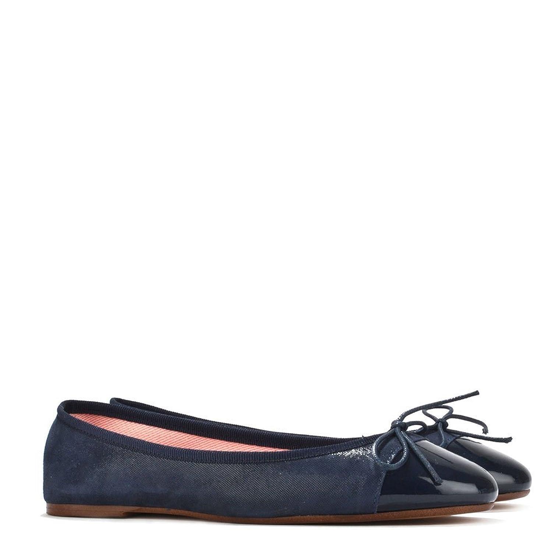 0db622d57242 Elia B Shoes Sandra Navy Suede Ballet Flat 39EU 6UK Navy  Amazon.co.uk   Shoes   Bags