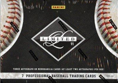 2011 Panini Limited Baseball box (1 pk HOBBY)