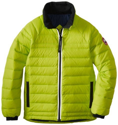 Video Review Canada Goose Youth Sherwood Jacket Aurora