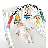 Best Newborn Baby Cribs - Singring Baby Arch Pram Crib Activity Cloth Animal Review