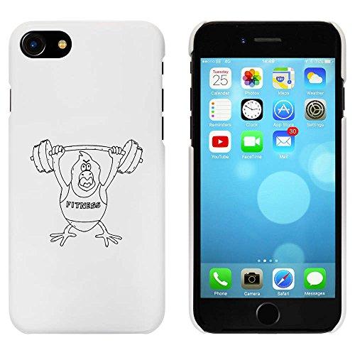 Blanc 'Aptitude Oiseau' étui / housse pour iPhone 7 (MC00073342)