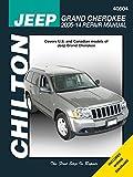 Grand Jeep Cherokee Chilton Service And Repair Manual: 2005-2014 (Chilton Automotive)