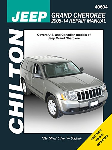 Jeep Grand Cherokee, '05-'14: Does not include information specific to diesel engine models (Chilton Automotive)