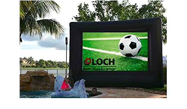 Loch iws140 hinchable pantalla de proyección: Amazon.es: Electrónica