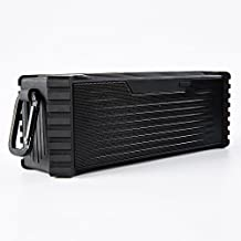Zingyou I5 Water-resistant Portable Wireless Bluetooth Speaker, Louder Volume 20W, More Bass, Water Resistant, Perfect Speaker for Outdoor Camp, Golf, Beach, Shower & Home (Black)