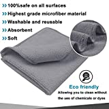 SINLAND Absorbent Microfiber Dish Cloth Kitchen