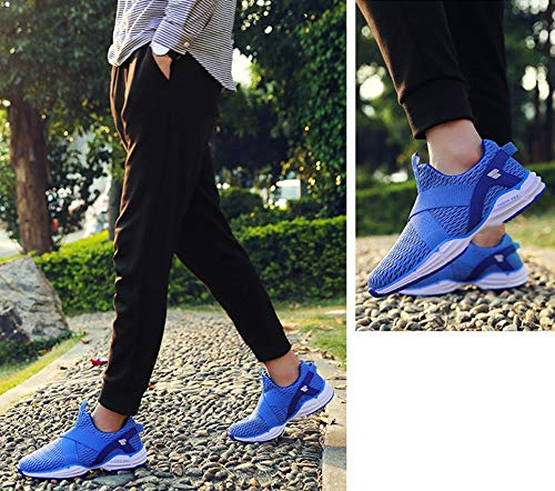 On Lazy donna amp; Shoes Punta Shoes Slip da Fall Sneakers Scarpe tonda Spring Knit D Comfort Walking P74w65q