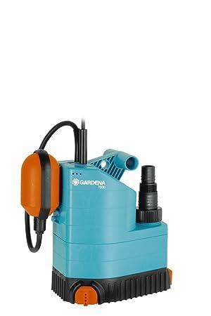 Bomba sumergible 7000 Classic de GARDENA: bomba de aguas limpias, caudal de 7000 l
