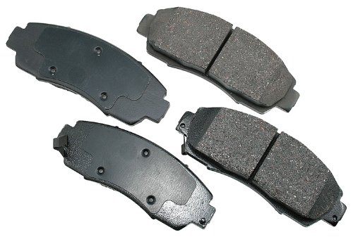 Akebono ACT1089 ProACT Ultra-Premium Ceramic Brake Pad Set