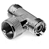 CESS Adapter UHF Male PL-259 to Dual Female SO-239