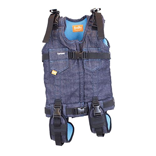 Firefly by Leckey Upsee Mobility Device - Mobility Harness for Children with Motor Impairments - Blue, Large from FIREFLY