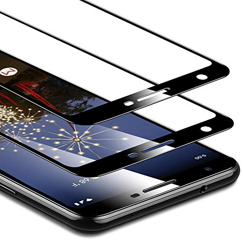 ESR Tempered-Glass Designed for The Pixel 3a Screen Protector, 2-Pack, Edge-to-Edge Coverage, Fingerprint, Scratch, and Force-Resistant, Case-Friendly Screen Protector for The Google Pixel 3a (2019)