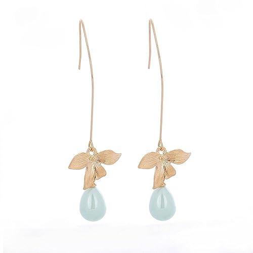 Juanya Boucles D Oreille A Tige Boucles D Oreilles Fleur D Orchidee