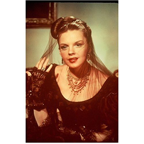 [Judy Garland 8x10 Photo The Wizard of Oz A Star is Born Easter Parade Fancy Dress Fingerless Gloves & Veil] (Hollywood Fancy Dress)