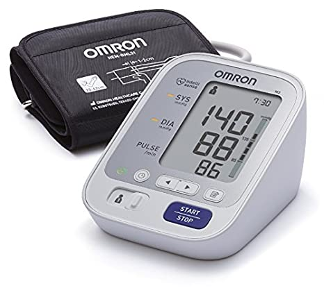 Omron M3 Intellisense Upper Arm Blood Pressure Monitor Blood Pressure Monitors at amazon