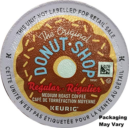 The Original Donut Shop Regular Keurig Single-Serve K-Cup Pods, 18 Count (Packaging May Vary)
