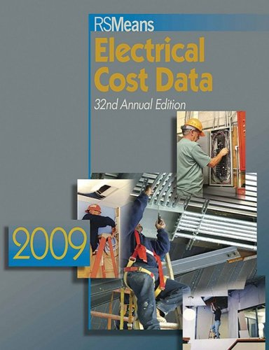 RSMeans Electrical Cost Data 2009 - Buy Online in Oman