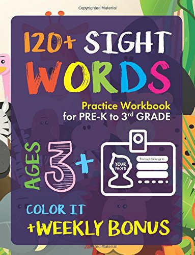 Download Ebook Sight Words Practice Workbook for